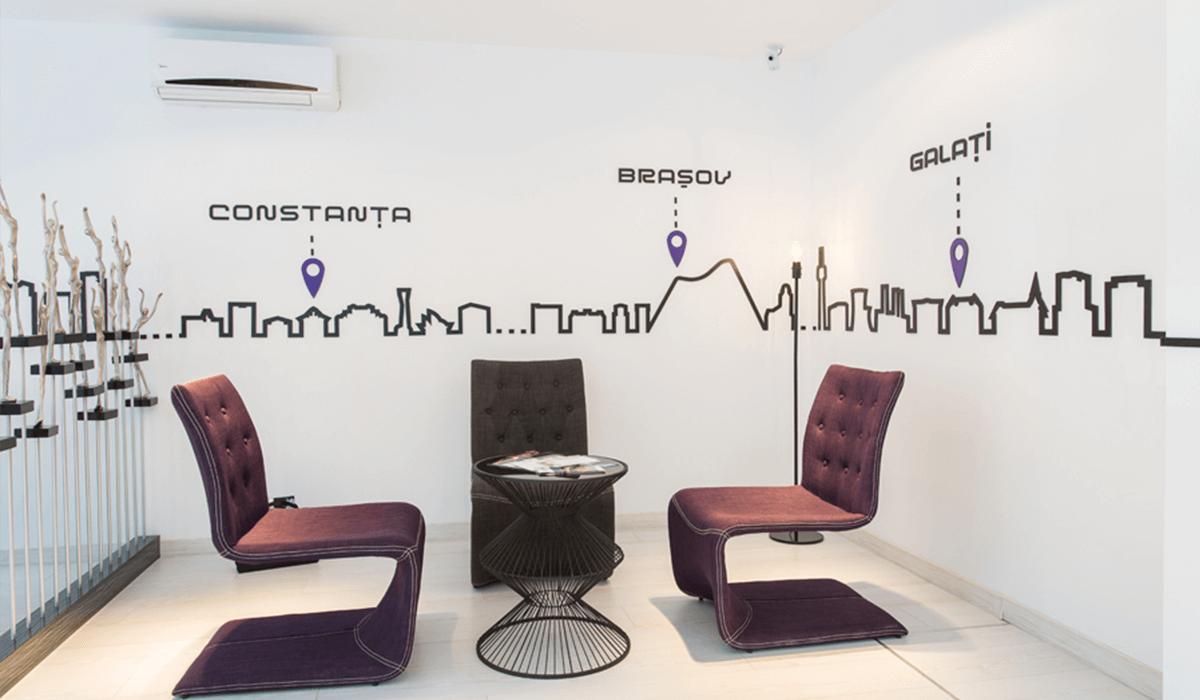 Clinica aBeauty Clinique, design de clinică, amenajare de clinică, amenajare interioara,amenajare clinica de infrumusetare, design urban, amenajare stil urban, spatiu de business, solutii personalizate, echipamente specializate
