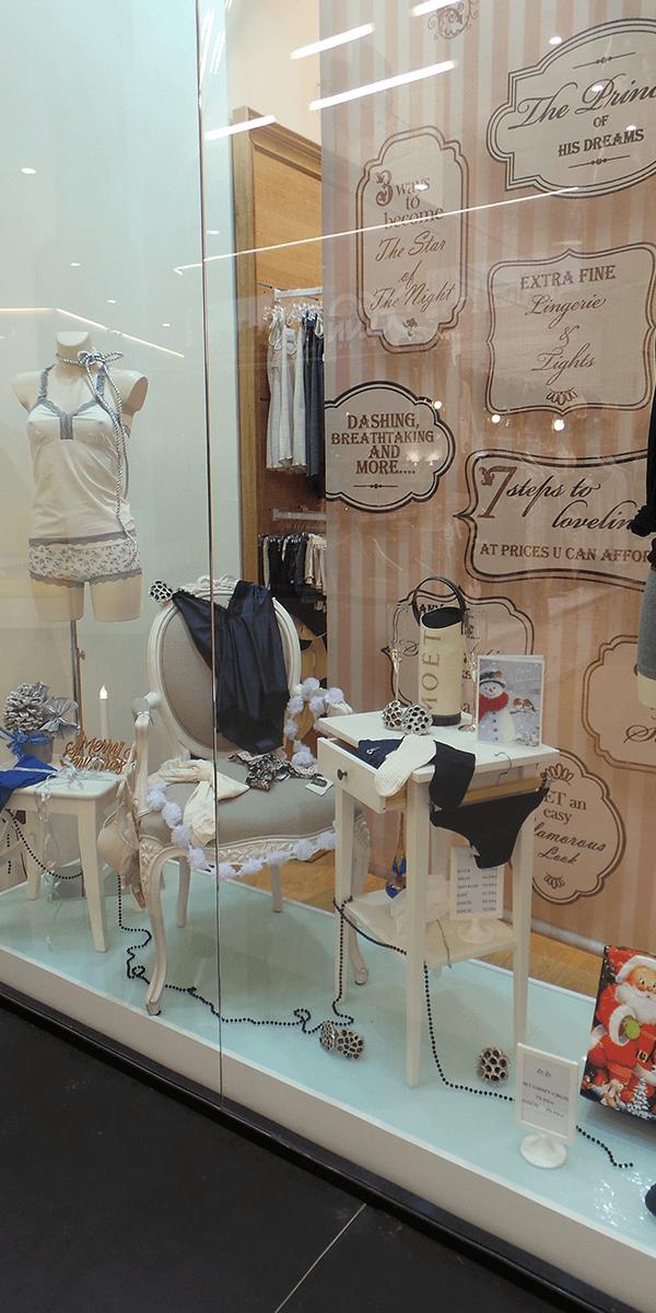 Za-Za Underwear, Promenada Mall, design interior, amenajare interioara, display design, styling, obiecte de decoratiune, design de produs, amenajare spatiu comercial, design de vitrina, solutii personalizate pentru vitrina