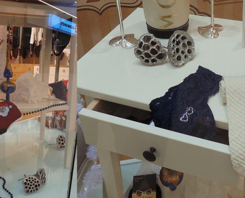 Za-Za Underwear, solutii personalizate pentru vitrina, Promenada Mall, amenajare spatiu comercial, styling, design de vitrina, design interior, amenajare interioara,
