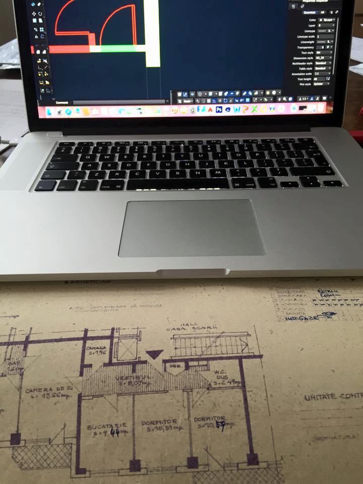 Autocad, plan design interior, managament de proiect, design interior, amenajare interioara